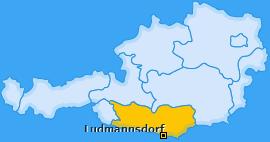 Karte von Ludmannsdorf