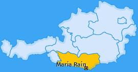 Karte von Maria Rain