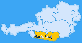 Karte Willersdorf Maria Saal