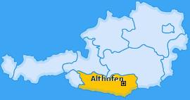 Karte von Althofen