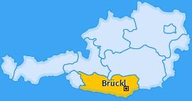 Karte von Brückl