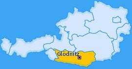 Karte von Glödnitz