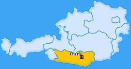 Karte von Gurk