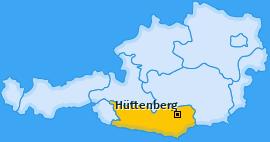 Karte Unterwald Hüttenberg