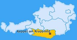 Karte von Kappel am Krappfeld