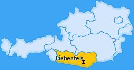 Karte von Liebenfels
