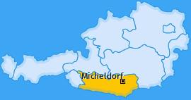 Karte von Micheldorf