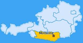 Karte von Mölbling