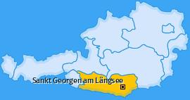 Karte Sankt Sebastian Sankt Georgen am Längsee