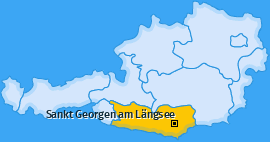 Karte von Sankt Georgen am Längsee