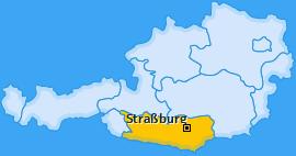 Karte von Straßburg