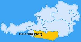 Karte von Baldramsdorf