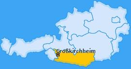 Karte von Großkirchheim