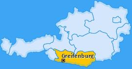 Karte von Greifenburg
