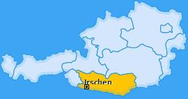 Karte von Irschen