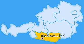 Karte von Kleblach-Lind