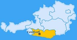Karte von Lendorf