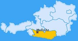 Karte von Mallnitz