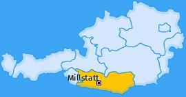 Karte von Millstatt