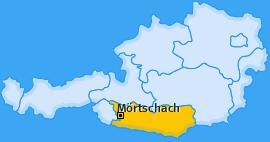 Karte von Mörtschach