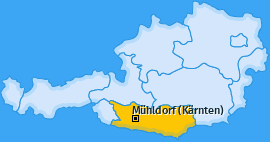 Karte von Mühldorf (Kärnten)