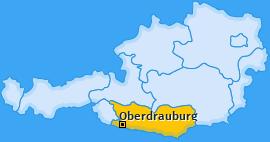 Karte von Oberdrauburg