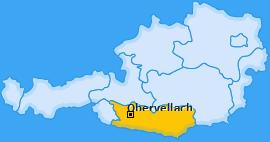 Karte Räuflach Obervellach