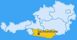 Karte von Sachsenburg
