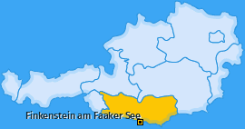Karte Techanting Finkenstein am Faaker See