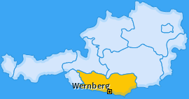 Karte Wudmath Wernberg