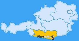 Karte von Eberndorf