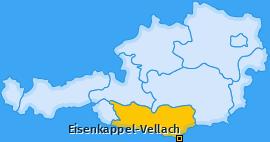 Karte von Eisenkappel-Vellach