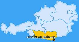 Karte von Feistritz ob Bleiburg