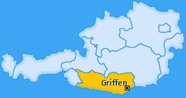 Karte von Griffen
