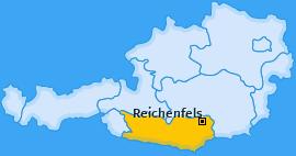 Karte von Reichenfels