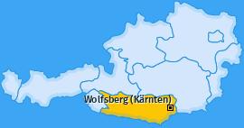 Karte Auen Wolfsberg (Kärnten)