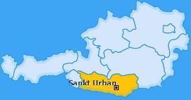 Karte von Sankt Urban