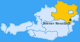 Karte von Wiener Neustadt