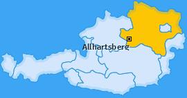 Karte von Allhartsberg