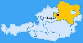 Karte von Ardagger