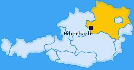 Karte von Biberbach