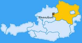 Karte von Ennsdorf