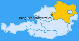 Karte Radhof Haag (Niederösterreich)