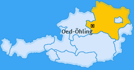 Karte von Oed-Öhling