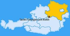 Karte von Sankt Georgen am Reith