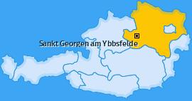 Karte von Sankt Georgen am Ybbsfelde
