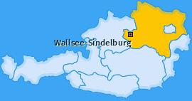 Karte von Wallsee-Sindelburg