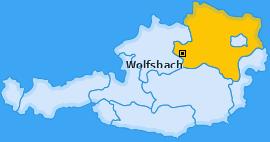 Karte von Wolfsbach