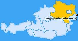 Karte von Berg (Niederösterreich)