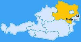 Karte von Rohrau